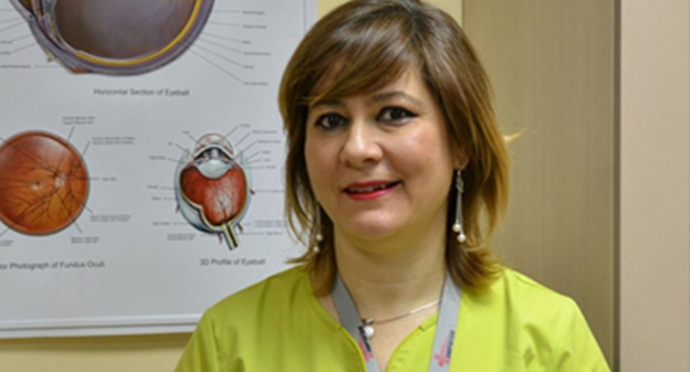 "Dr. Maria Pramatarova will actively participate in the campaign ""I See 20/20. I can! """